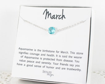 March Birthstone Silver Bracelet, Aquamarine Bangle Bracelet, March Aquamarine Bracelet, Silver Bracelet, March Birthstone Bracelet