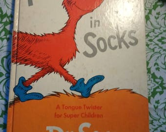 Fox in Socks by Dr Seuss 1969 first edition