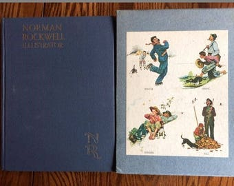 Norman Rockwell Illustrator Book
