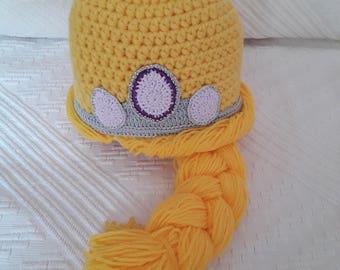 Tangled inspired princess hat