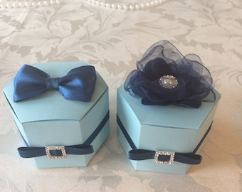 HIS from His and Hers favour boxes