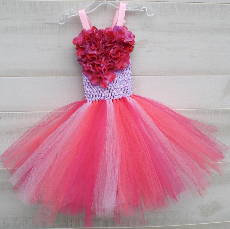 Flower girl dress tutu dress tulle dress Tutu Dress Girls