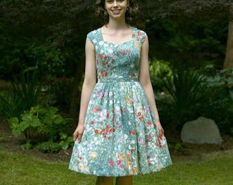 Handmade 50's-Style Sundress (size xs)