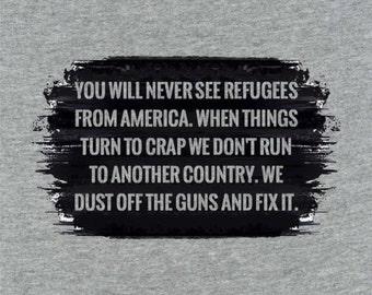 American Refugees - T-shirt
