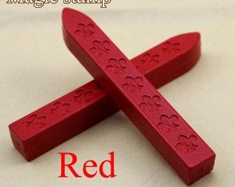 2pcs Red Sealing Wax Sticks for Wax Seal Stamp