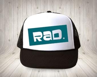 Rad children's trucker hat