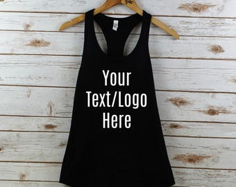 Custom tank top, log tank top, womens tank, women's tank top, women's tank, custom shirt, logo shirt, custom tank, logo tank, custom, logo