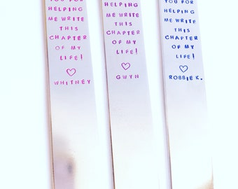 Teacher Thank You Gift - Bookmark