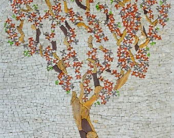 Magnificent Tree Mosaic Picture