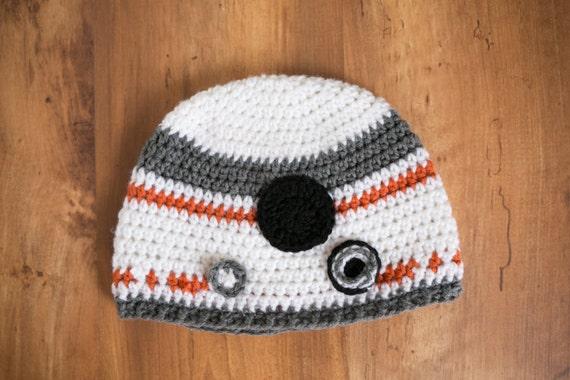 Crochet Bb8 Hat Star Wars Bb8 Hat Crochet Star Wars Bb8 Hat