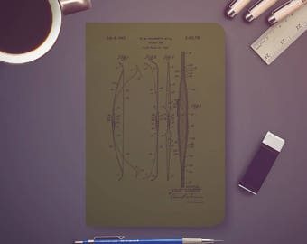 Archery bow 1947 Patent, Notebooks, Sketchbooks, Journal, Traveler Notebook, Notebook Bullet, Archery Patent, Hunting, Patent, Patent Art