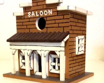 Saloon birdhouse
