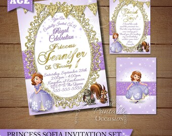 Sofia invitation etsy sofia the first invitation stopboris Image collections