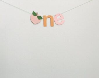 Sweet peach party, party banner, peach party, highchair garland, highchair sign,peach decor, peach birthday