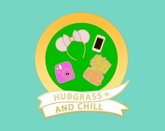 PRE-ORDERS | Hub Grass Enamel Pin