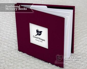 Baby Memory Book - Plum