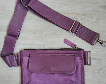 Fanny Pack, Leather women's belt bag, Leather Fanny Pack, Waist Bag, Belt Bag, Hip Bag, Leather belt bag, Leather Waist Bag,Modern bag