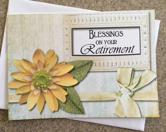 Item #114 Blessings on Your Retirement - Jeremiah 29:11
