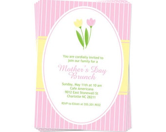 PRINTABLE Mother's Day Brunch Party Invitation