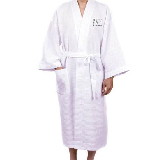 Robe Accommodation: Monogramme Mens Robes Garçons Dhonneur Robe Peignoir Mens