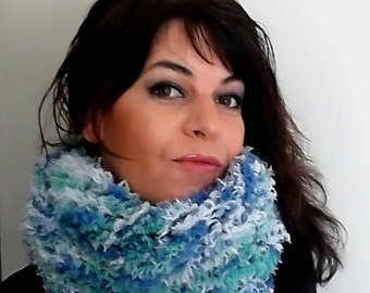 Knitted Scarf, Infinity Scarf, Winter Scarf, Wrap Scarf, Handmade Scarf, Cowl Scarf, Looped Scarf, Circle Scarf, Hooded Scarves, Cozy Scarf