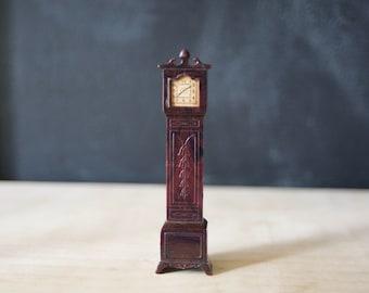 Plasco Dollhouse Tall Clock Vintage 1950s