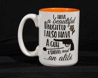 Decorative Funny Saying Coffee Mug
