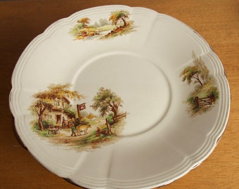 Meakin Serving Platter // Alfred Meakin Serving Plate