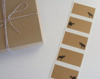moose kraft labels