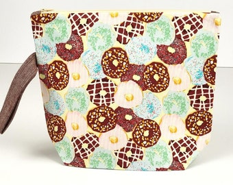 Everybody Loves Doughnuts! - Medium Project Bag