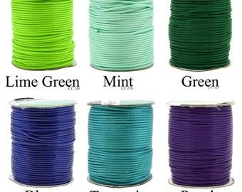 Mandala Crafts Korean Wax Cord, Beading Cord, 2mm, 81 Meters, 89 Yards, Many Color Options