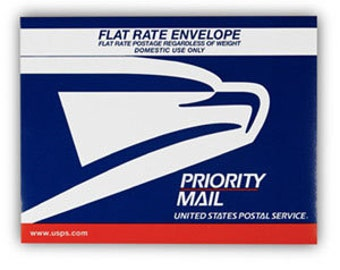 USPS Priority Mail Upgrade for U.S. Domestic Packages usually with 2-3 day delivery