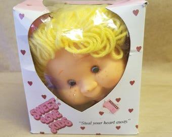 Sweet Love Kids Doll Head - Blonde