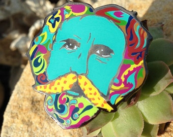 Bob Weir Grateful Dead Pin Small Version