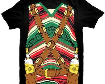 """Tequila T-Shirt """"Tequila Shots"""" Man"""