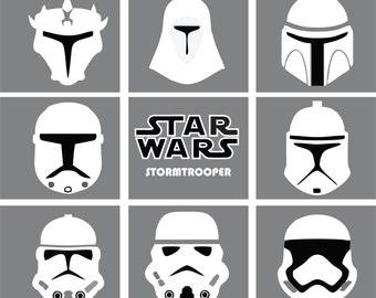 Star Wars  STORMTROOPER - Vector