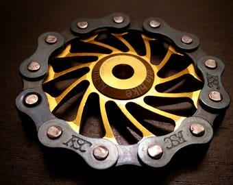 Fidget Spinner-EDC- Sprocket Spinner- (Ceramic Bearing)