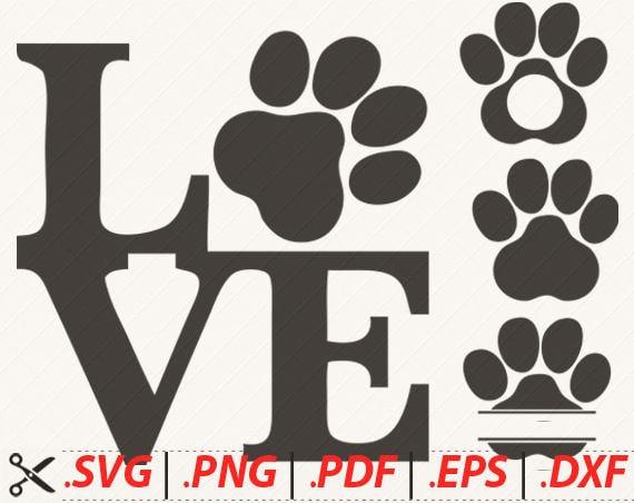 Download Dog Paw SVG Cat Paw SVG Animal Paw SVG Animal Print svg