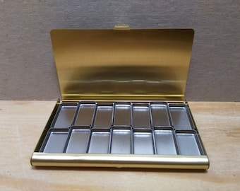 Tirra Lyra Mini Watercolour Palette for Traveling and Exploring - 14 Small Pans