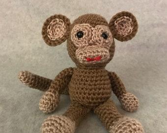Little chimp by Crochet by Loraine