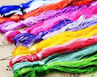 50 x Silk Embroidery Floss/Threads - Suzhou Embroidery Thread