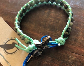 African Turquoise Energy Bracelet