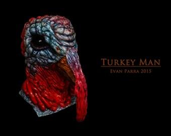 TURKEY MAN - Professional Latex Mask