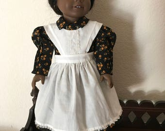 Dress with Apron for 18 inch Doll