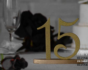 Gold Table Numbers, Gold Table Number for Weddings,Table Number, Wedding Table Decor, Wedding Reception Table, 10 table numbers