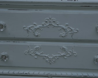 Charmant Furniture Applique / Chic Furniture / Furniture Appliques / DIY Projects /  Shabby Chic / Romantic Cottage / French Country