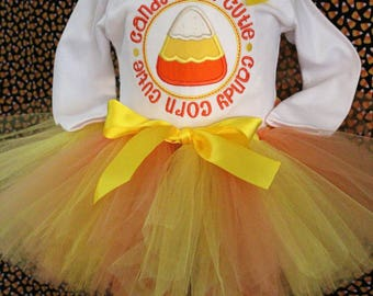Girls Halloween outfit, Halloween, girl halloween shirt, halloween tutu, baby girl,  bodysuit,  tshirt, t shirt, Candy corn, orange, yellow