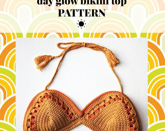 DAY GLOW bralette pattern