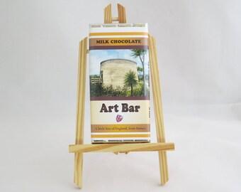 Wish Tower Art Bar, Milk Chocolate 100g