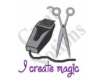 I Create Magic - Machine Embroidery Design